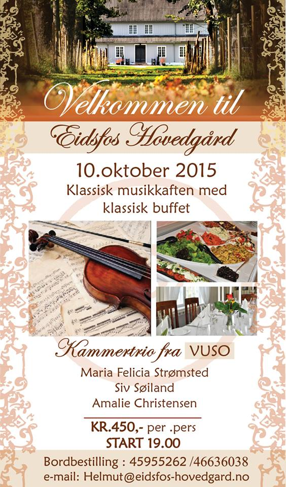eidsfoss musikafften 10.oktober