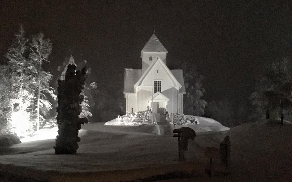 Eidsfoss kirke Kyrre Hansen