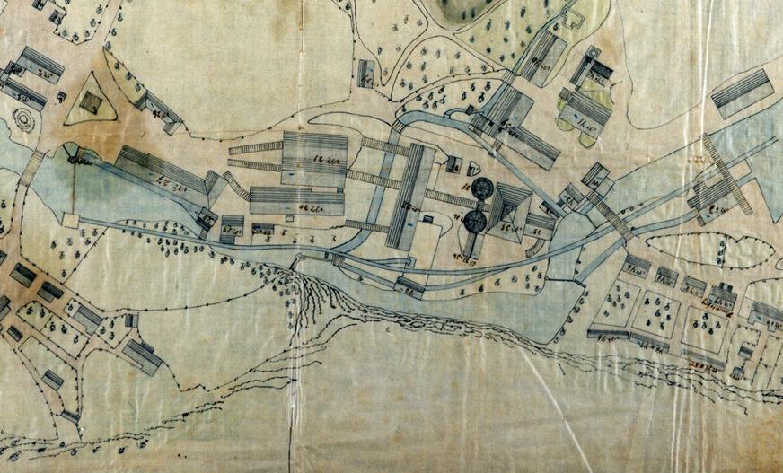 skibergfjell kart Industry in the Ironworks Period | Visit Eidsfoss skibergfjell kart